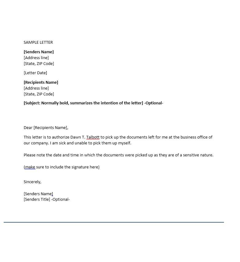 authorization letter sample for representative book covers Home - sample bank authorization letter