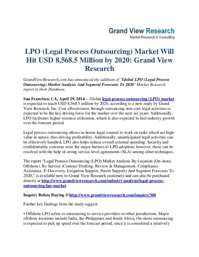 Grandviewresearch has announced the addition of global lpo explore research report market research and more platinumwayz