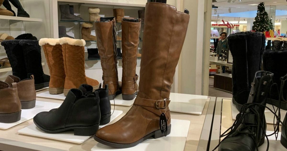 Women's Riding Boots Only 19.99