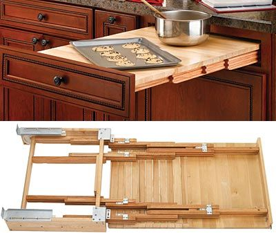 Pull Out Kitchen Table Hardware
