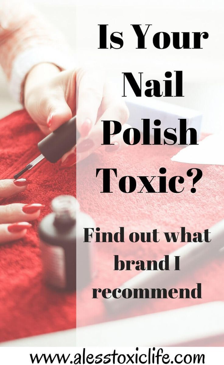 Is Your Nail Polish Toxic? -   Healthy facts, Healthy living and ...