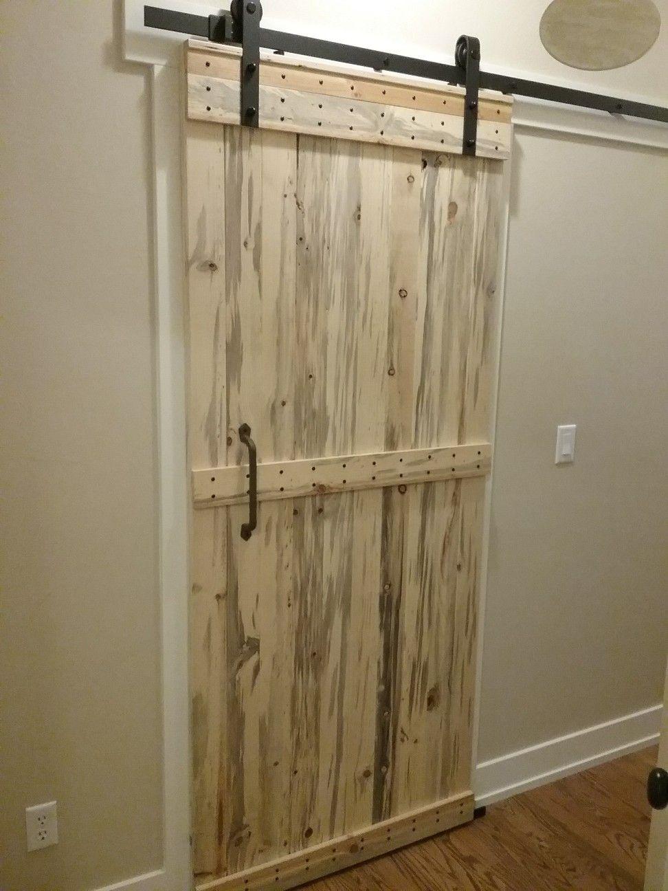 Finally Finished The Barn Door For Ourlaundry Room Svw House Beetles Barn Door Doors