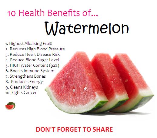 Ten Health Benefits Of Watermelon Www Healthcrazee Com