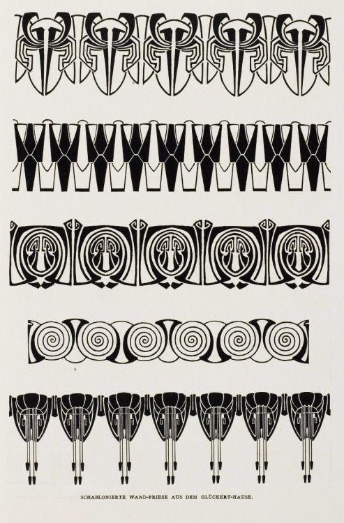 Deco Jugendstil afbeeldingsresultaat voor jugendstil wall decoration nouveau