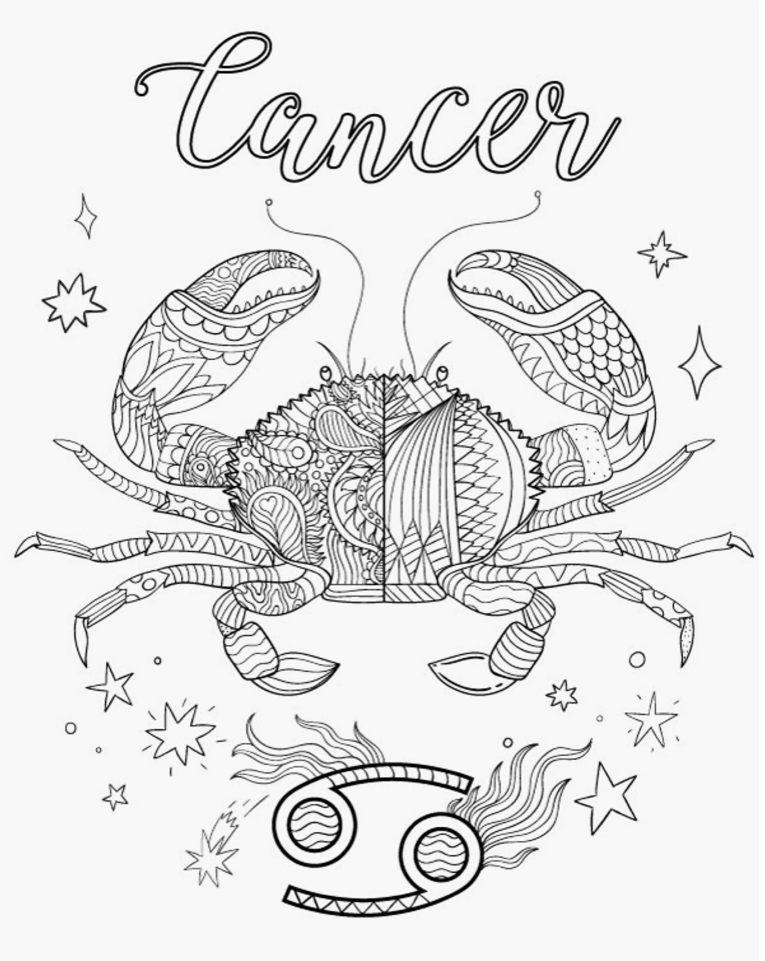 Pin De Solange Farnese Em Colorir Zodiaco Com Imagens Signos