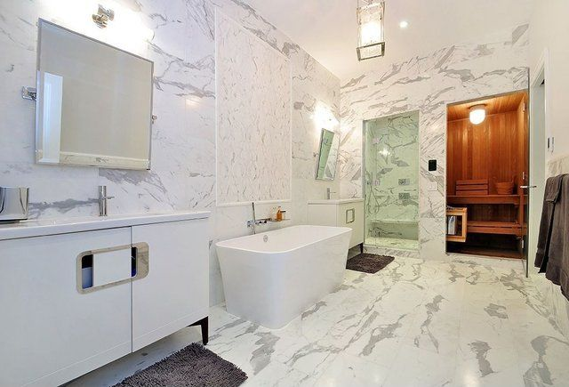 Fancy - Great Contemporary Master Bathroom - Zillow Digs