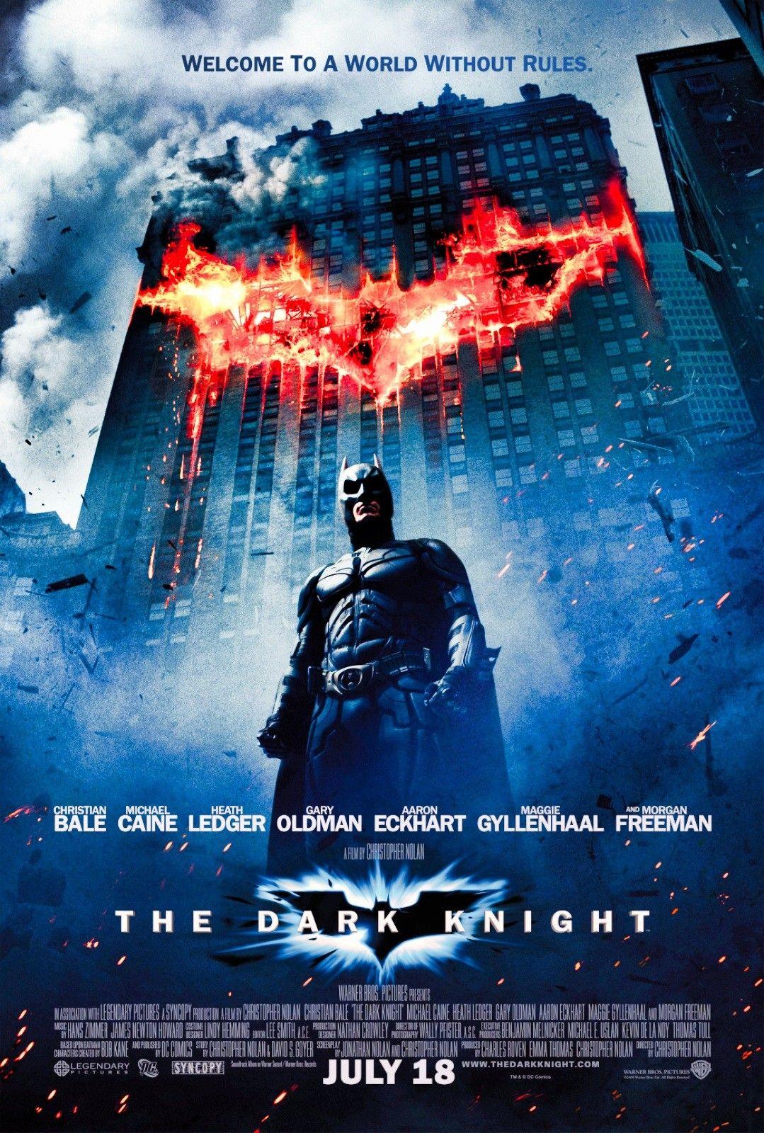 The Dark Knight Vintage Movie Poster Com Imagens Cavaleiro Das