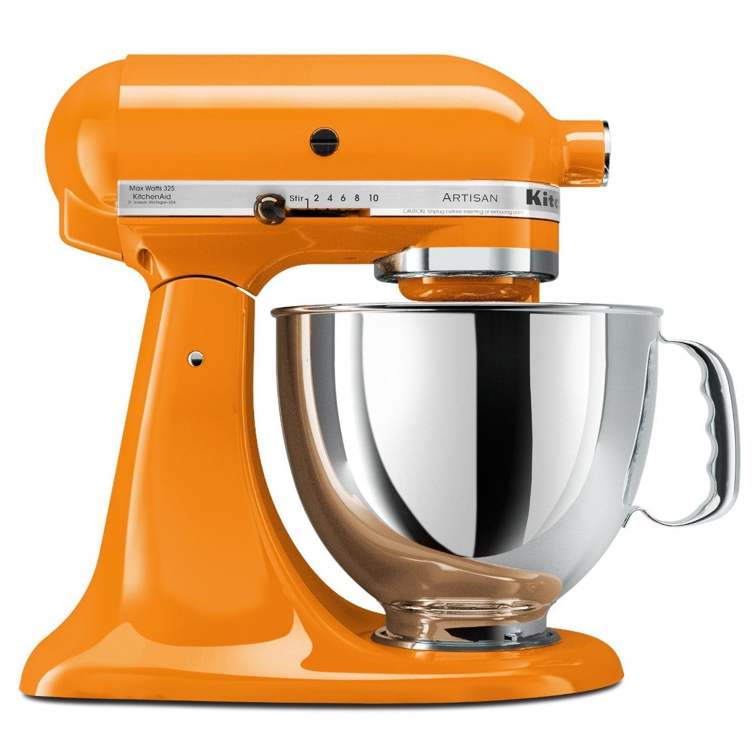 My Mom Bought Me This Tangerine Kitchen Aid As An Early Wedding Present