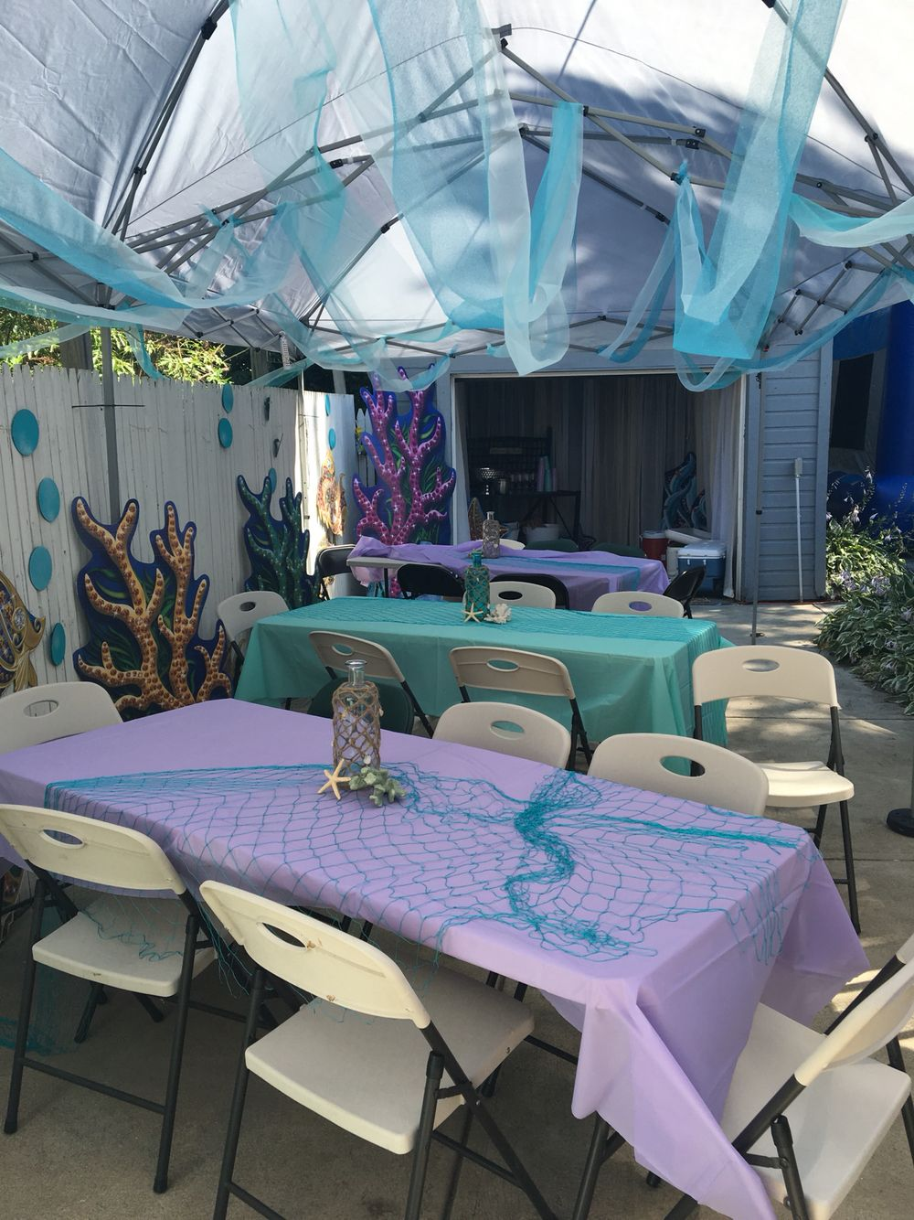 Under the sea birthday party Ariel birthday party