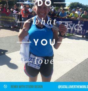 Set your goals, and achieve them! #26.2 #gcam14 @goldcoast #goldcoastmarathon #42 #Australia