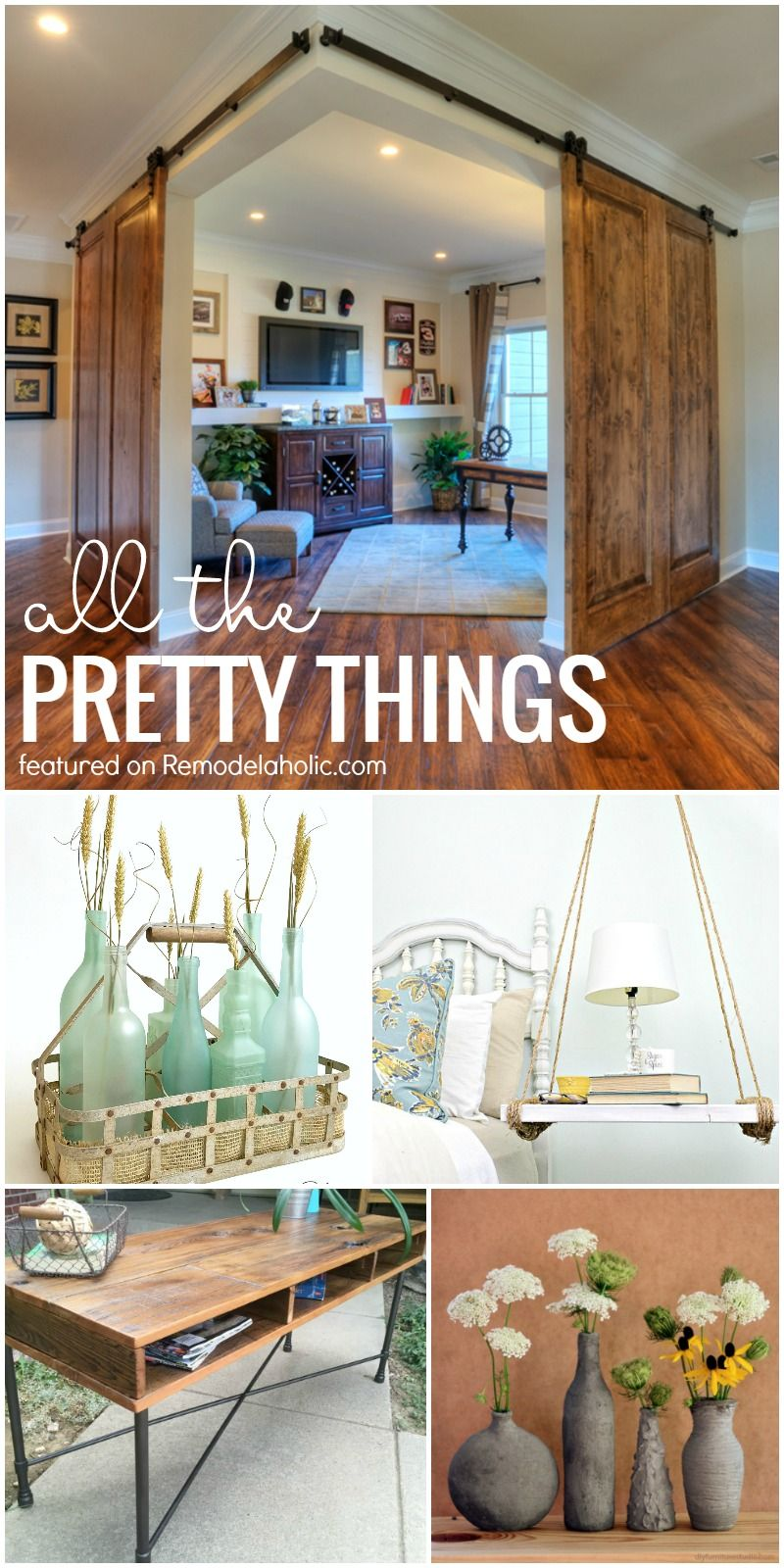 Friday Favorites Corner Barn Doors Uses For Recycled Glass And