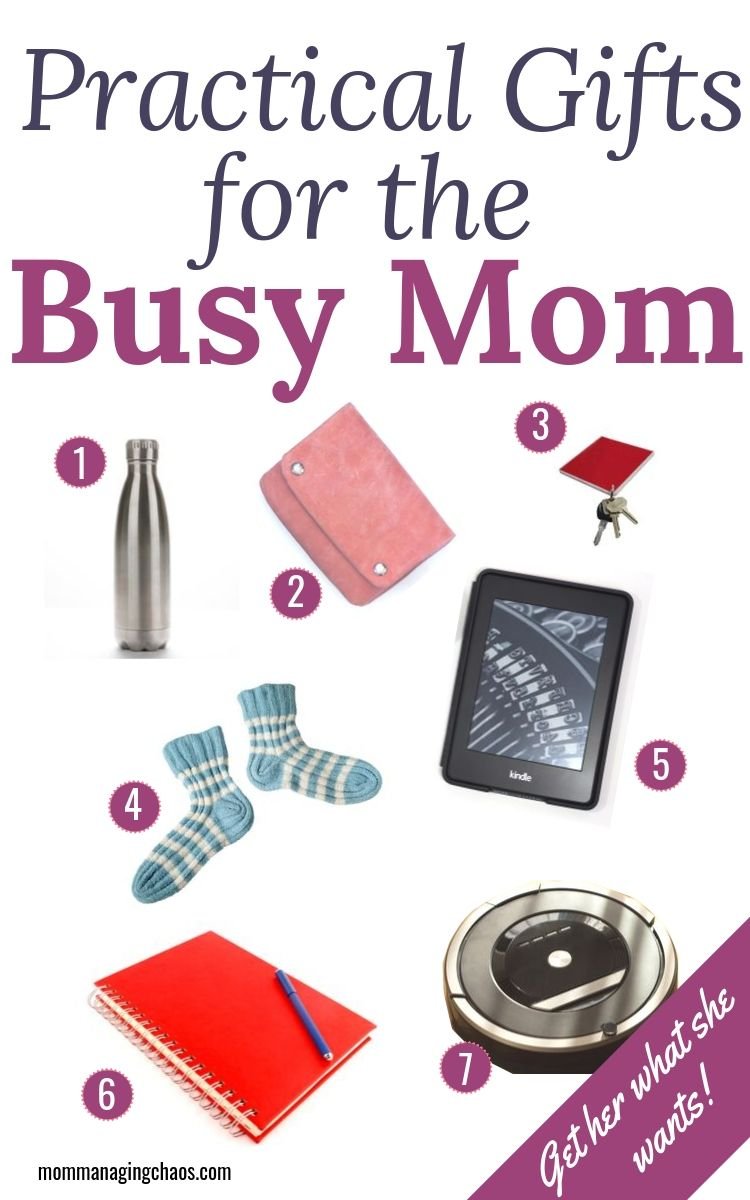 Practical Gift Ideas For A Busy Mom Busy Mom Gifts Practical