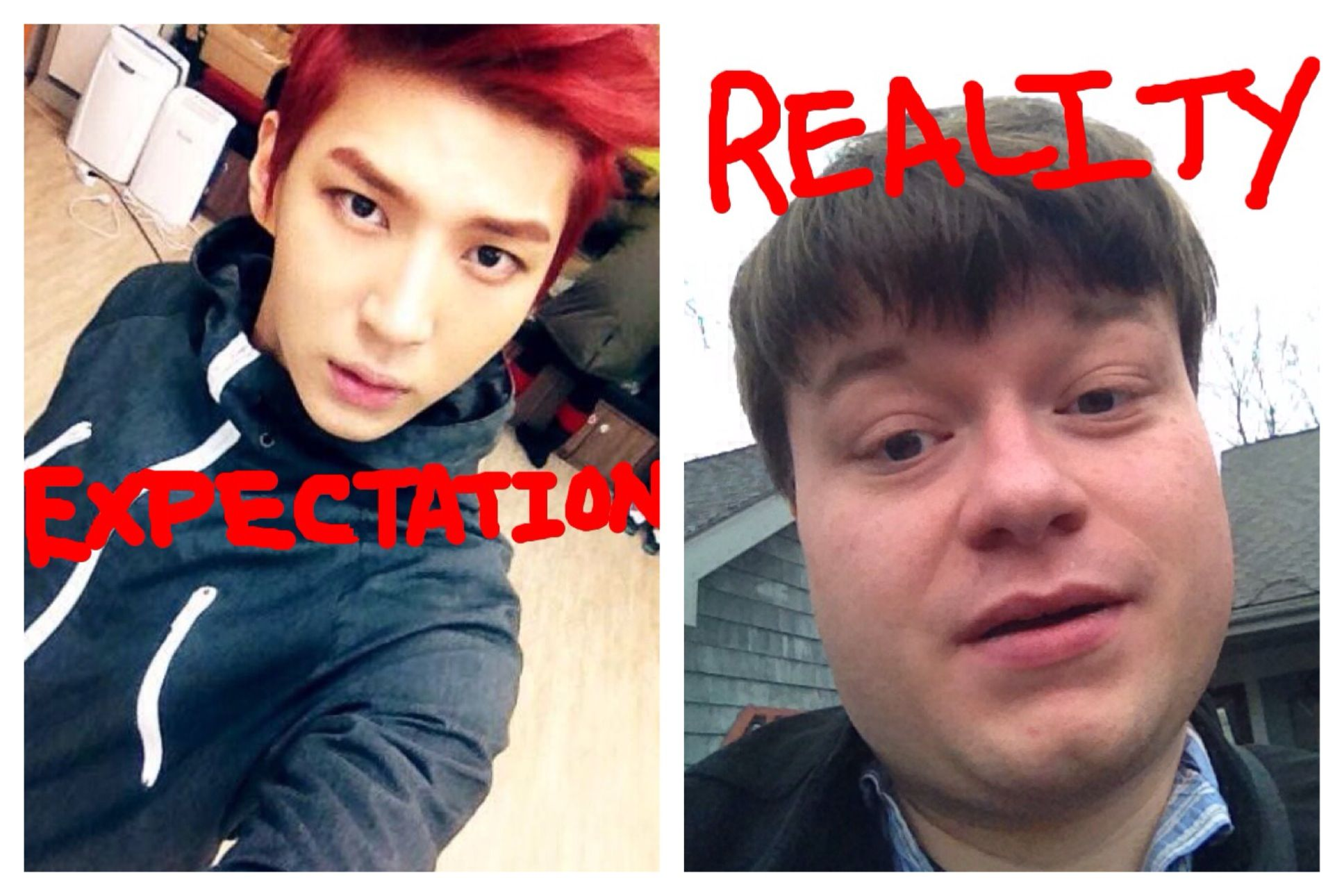 Expectation vs Reality: between #vixxleo and #leocurrently