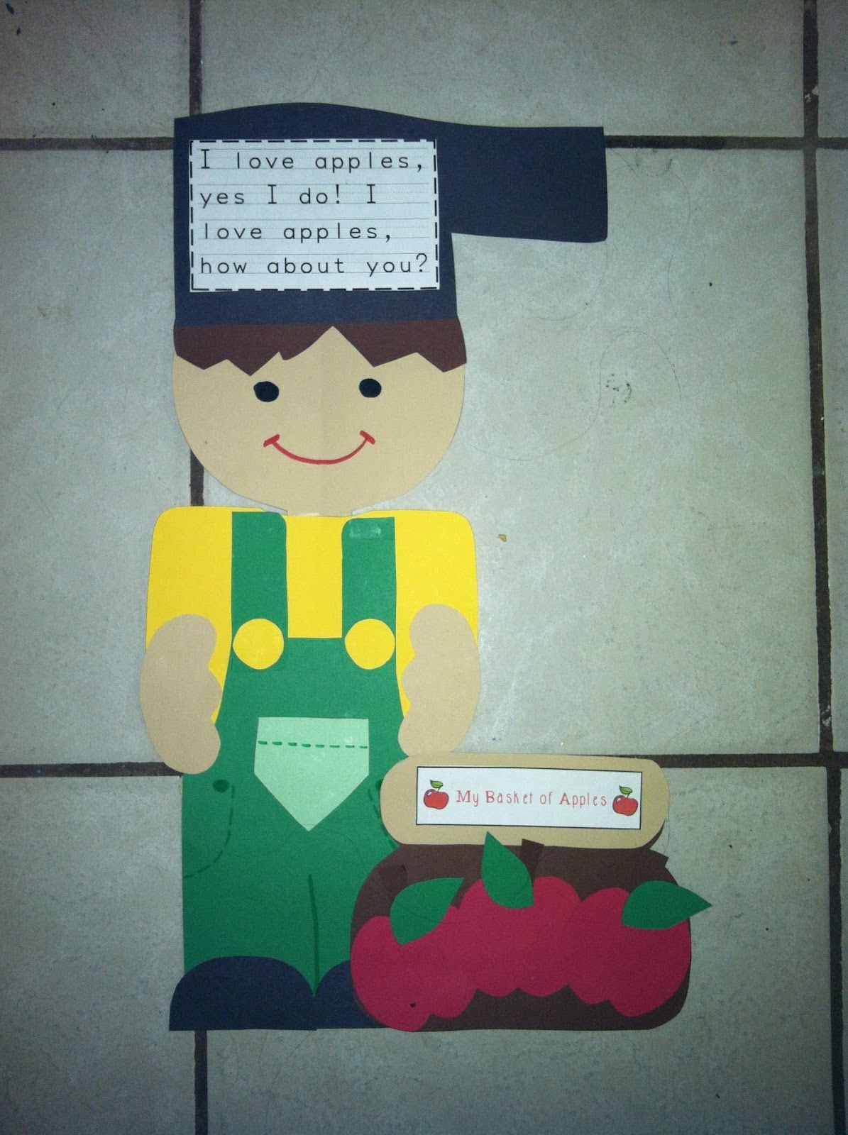 Johnny Appleseed Craftivity And A Special Thanks 2 A