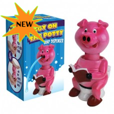 Piggy on The Potty Squirting Soap Dispenser for $14.29 w/Free Shipping @Lane Bashaw | DODsea.com