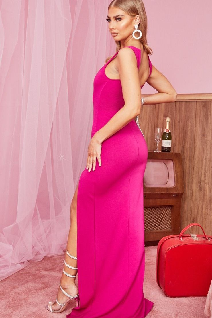 On Wednesday S We Wear Pink Come Shop Our Mumuweddings Guest Collection In Pink Wedding Guest Dresses Black Tie Wedding Guest Dress Wedding Attire Guest [ 1349 x 1080 Pixel ]