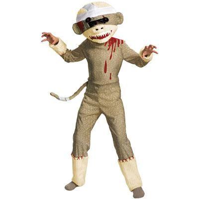 Zombie Sock Monkey = LOL!