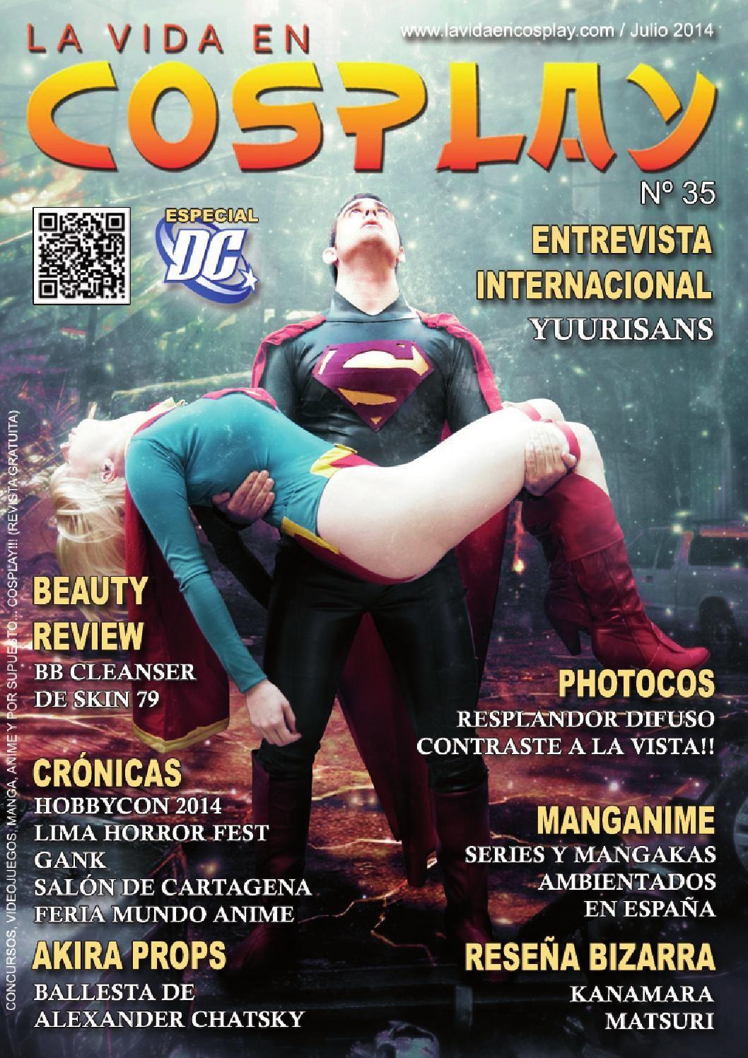 Revista De Julio Revistas Cómics Cosplay