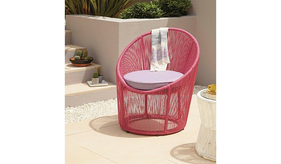 Primo Egg Bistro Chair - Fucshia, read reviews and buy online at ...