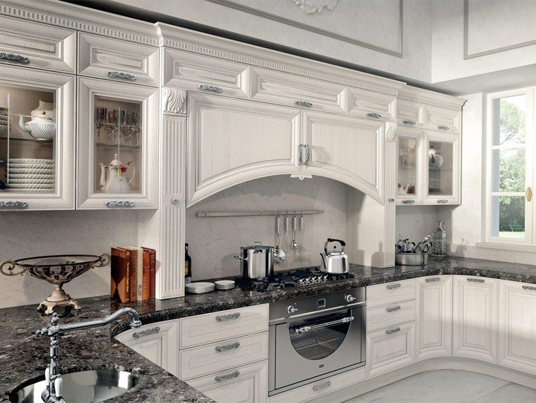 Decapé kitchen with handles PANTHEON | Kitchen by Cucine ...