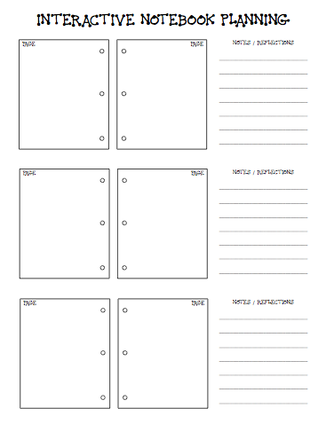 School of fisher interactive notebook planning interactive good templates on this page too school of fisher interactive notebook planning interactive notebooks have saved my math and science teaching pronofoot35fo Gallery