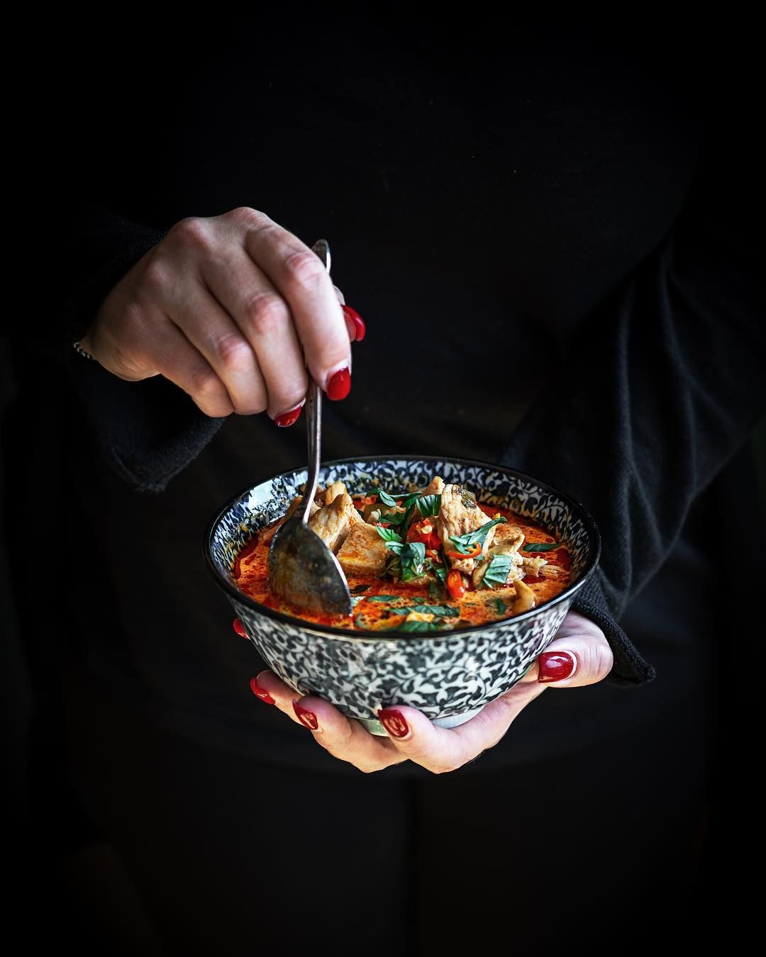 Thai Curry Dark And Moody Food Photography Moody Food