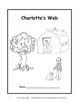 Charlotte's Web Novel Study is for use with 3rd and 4th