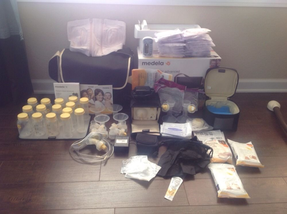 Medela Pump In Style Advanced Metro * HUGE LOT * Low hours * FREE SHIP WITH BIN