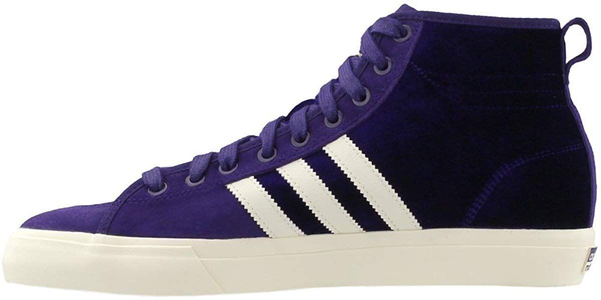 25ee7b2b3d78a Amazon.com | adidas Matchcourt Mid Rx Nakel Shoes Purple White 6 ...