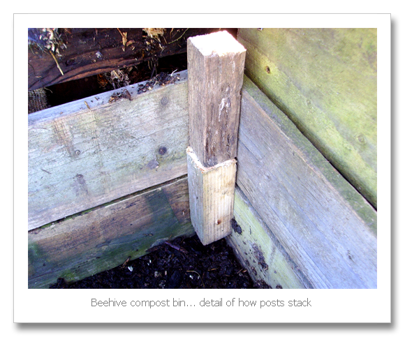 Allotment Heaven How To Make A Beehive Compost Bin Compost