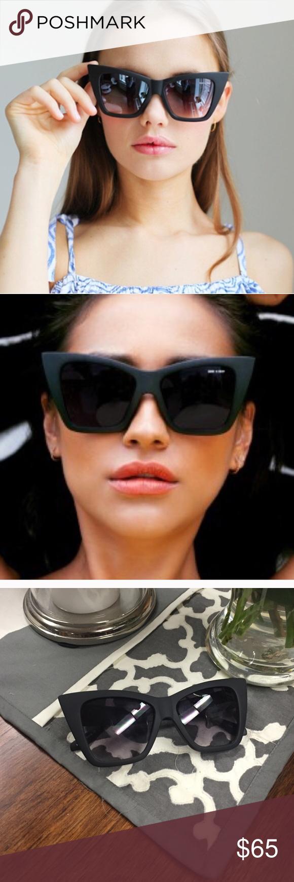 d121bab12c Authentic Quay Vesper Black Matte Quay vesper black matte glasses. Shay  Mitchell made them famous! Quay Australia Accessories Sunglasses
