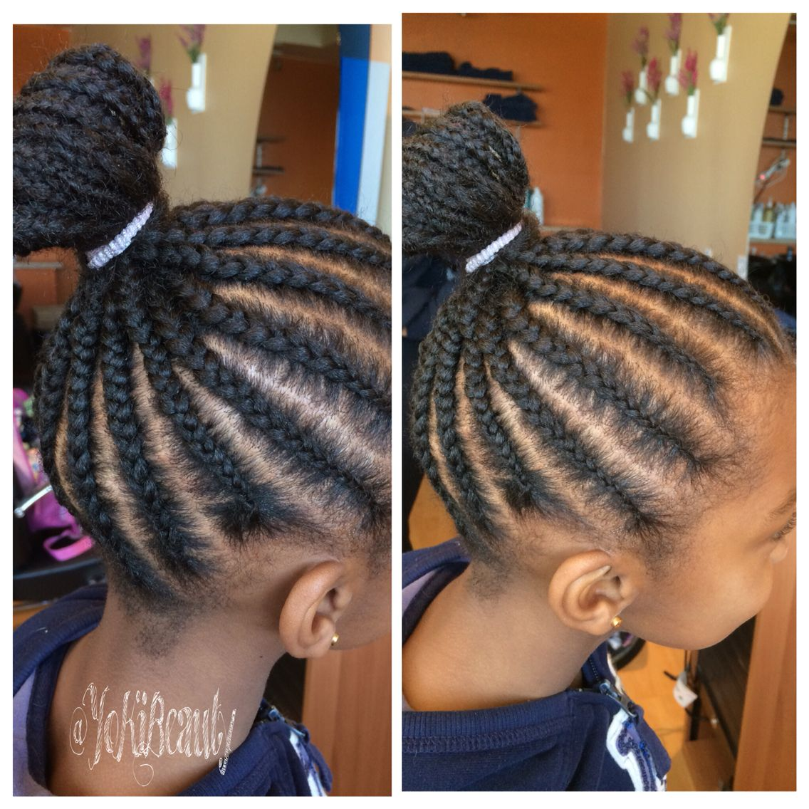 Braids Going Up Into A Ponytail Mini Twists Natural Hair Hair Styles Natural Hair Styles