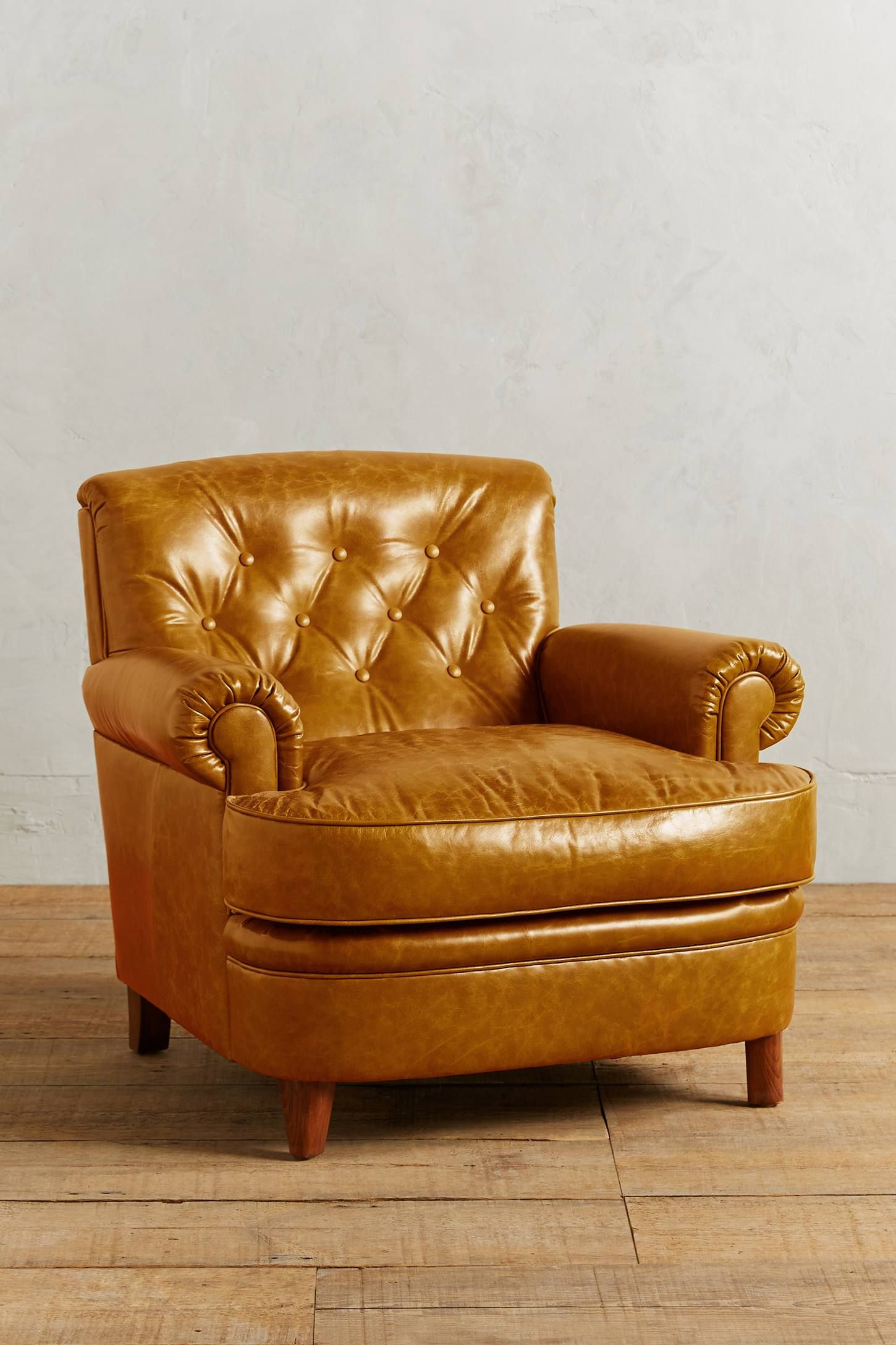 Leather Kimmeridge Armchair In 2020 Green Leather Chair Best