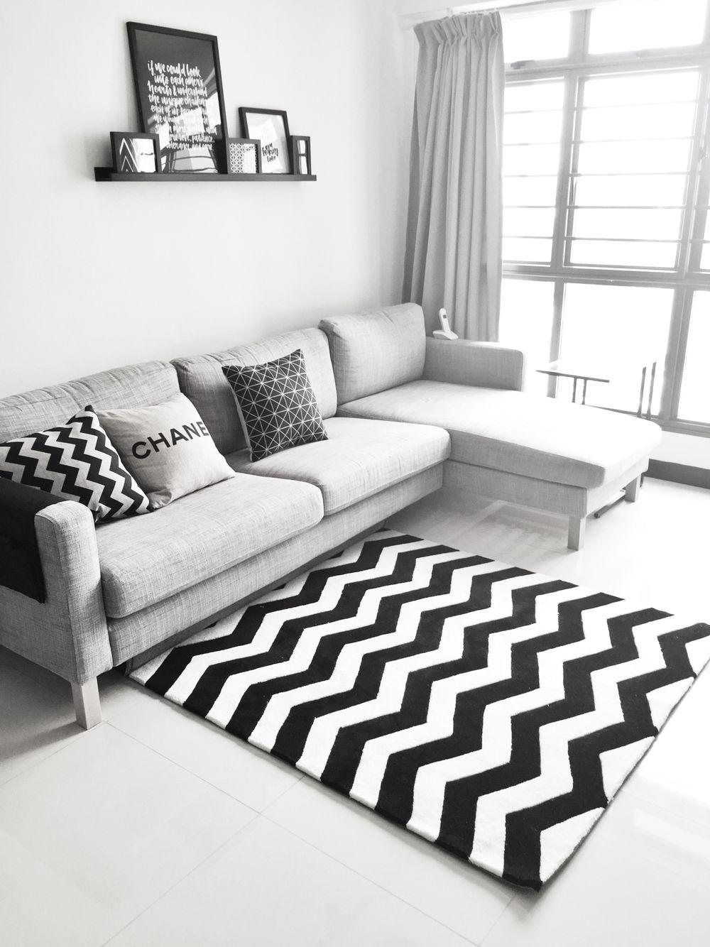 An open concept 3 room HDB flat Home Decor Singapore Living