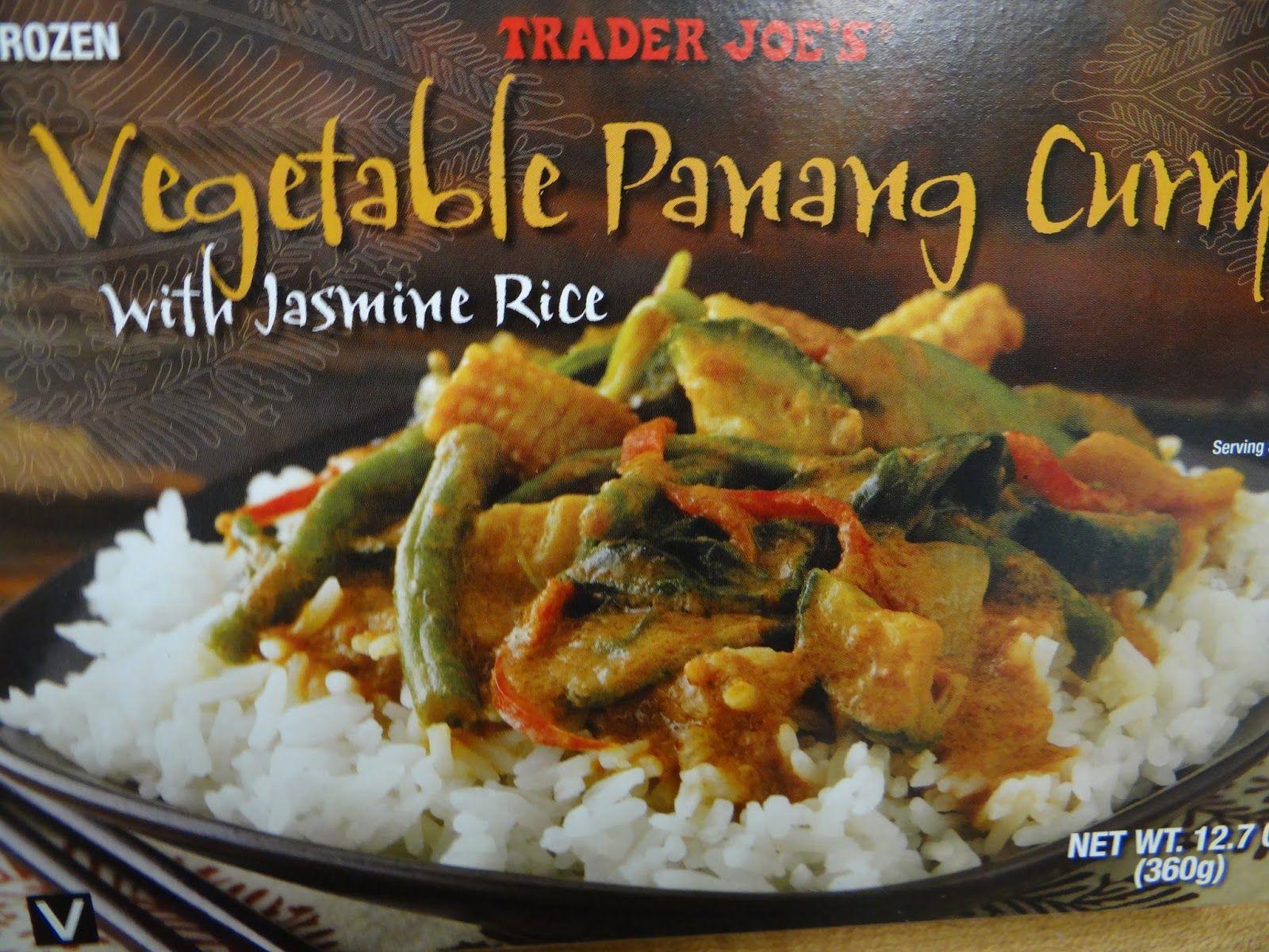 Trader Joe S 365 Day 221 Vegetable Panang Curry Trader Joe Trader Joes Vegan Trader Joes Convenience Food