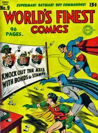 Ufunk.net - La propagande dans les Comics Américains de la Seconde Guerre Mondiale