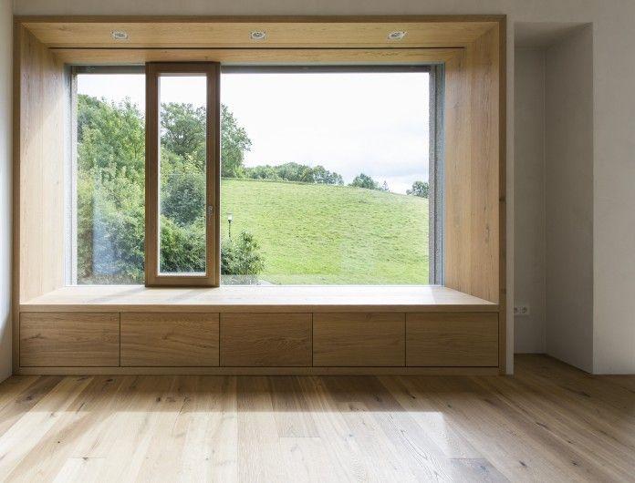 Wohnhaus d haus sitzfenster pinterest for Innendesign schule