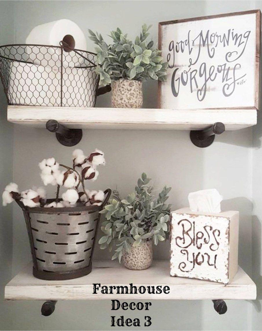 Farmhouse Decor Clean Crisp Organized Farmhouse