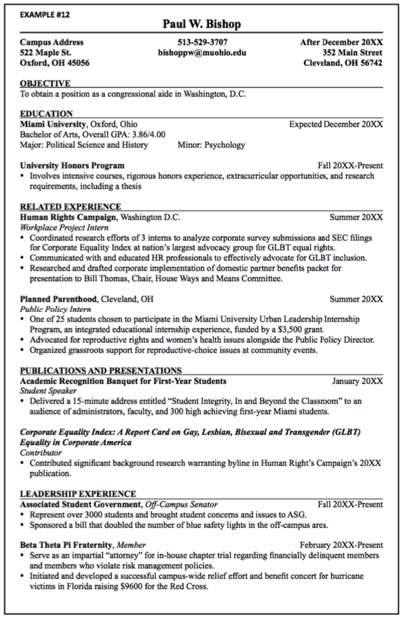 Congressional Aide Resume Sample  HttpExampleresumecvOrg
