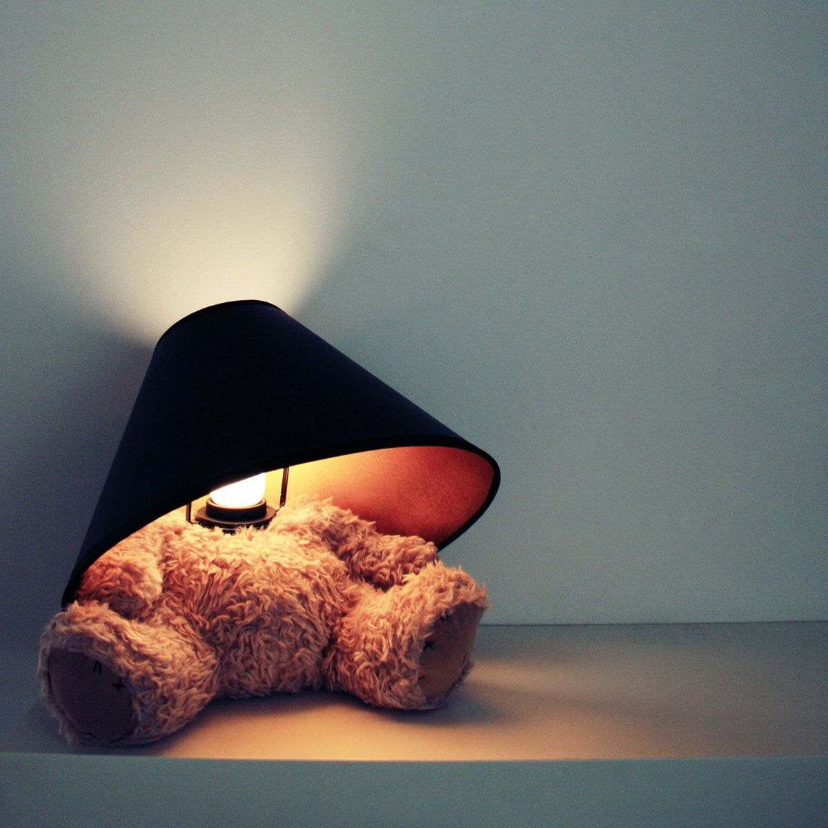 Teddy Bear Lamp Hus