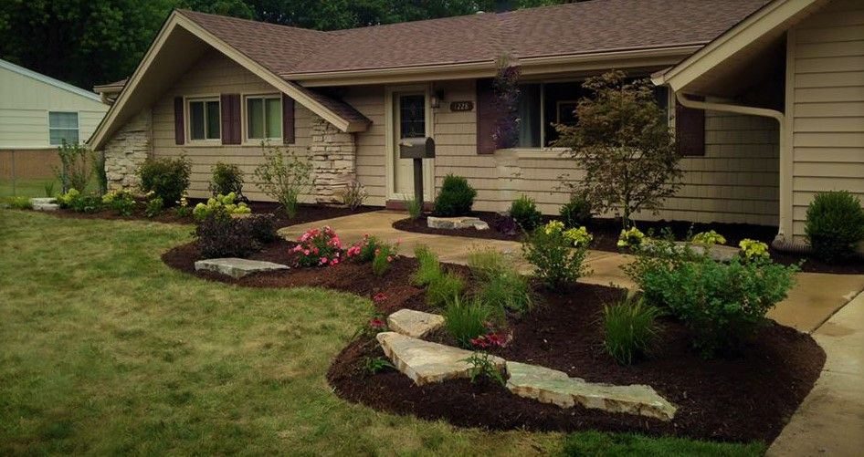 Natural Outcropping Stone And Landscape Design In Roselle Landscape Hardscape And Maintenance S Landscape Projects Landscape Services Landscaping Supplies