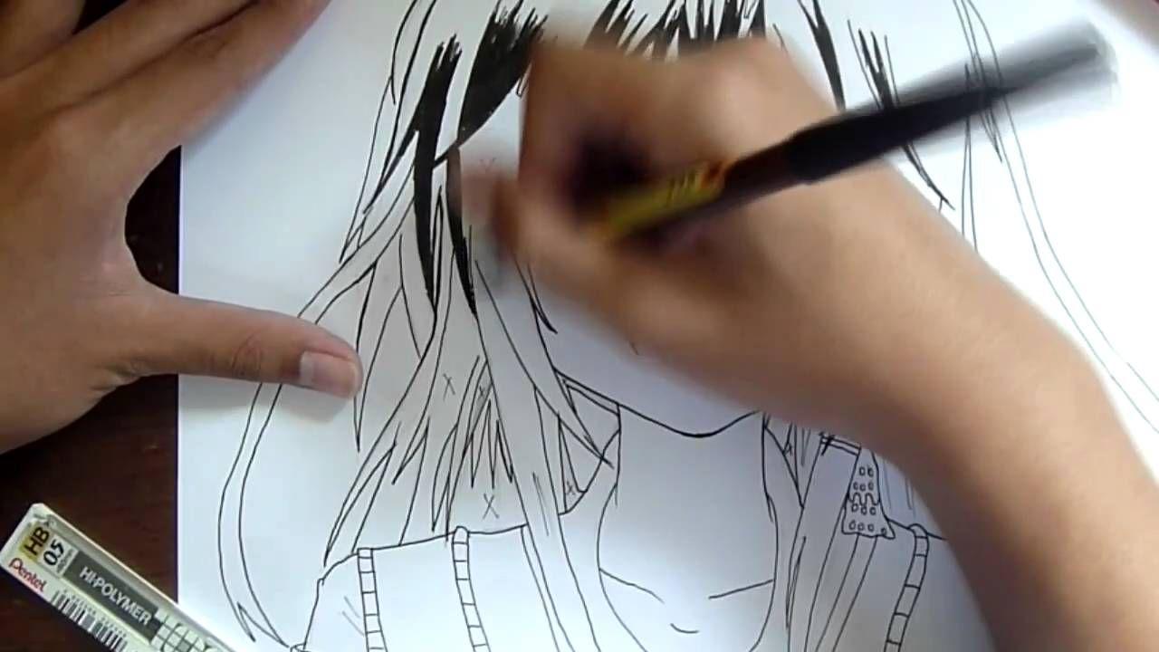 Inking Kirisaki Nanoka How I Ink Manga Ink Triangle Tattoo Manga