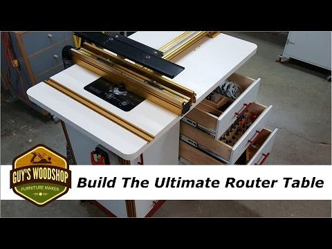 How to build the ultimate router table with incra pt 2 youtube using some incra parts i have and some new items i start building what i think is the ultimate router table lots of storage mobile base router lift greentooth Image collections