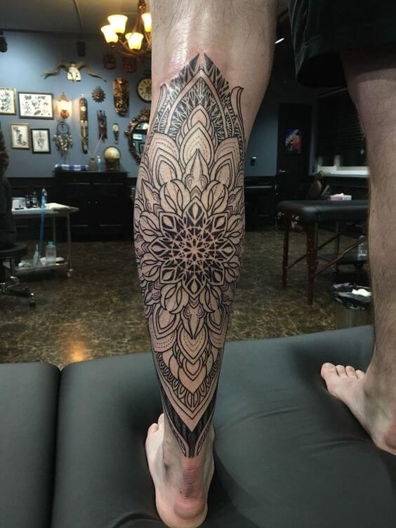 Mandala Tattoos For Men Mandala Tattoo Design Mandala Tattoo Leg Mandala Tattoo