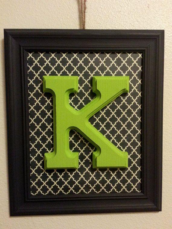 Framed Letter \