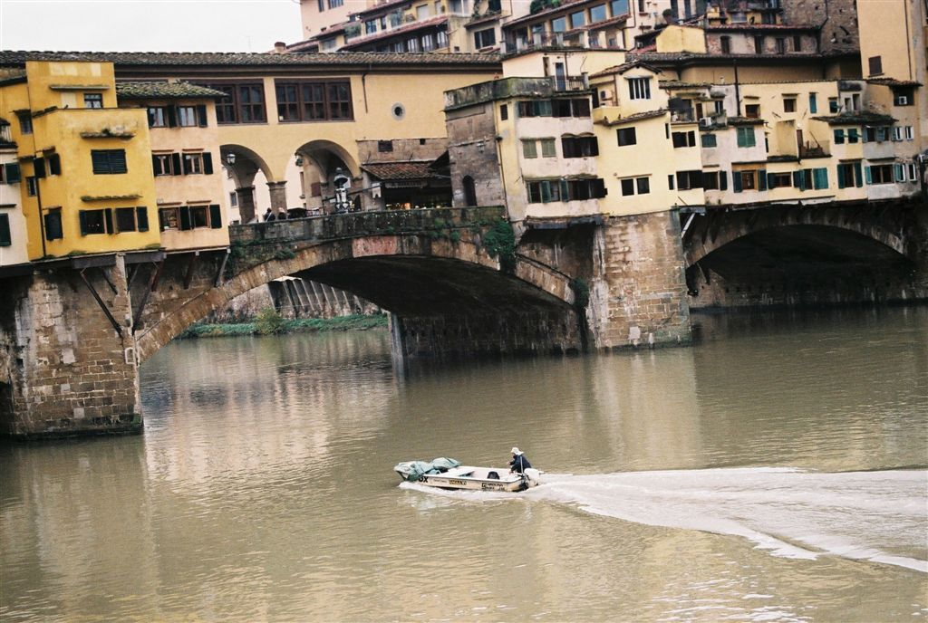 Ponte Vecchio, Florence, Italy by Christophe Cario