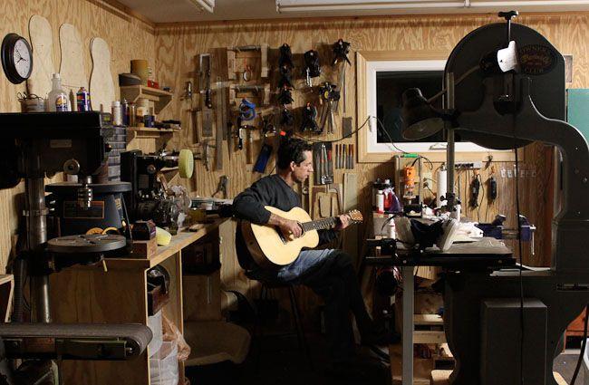 The Luthier S Shop Luthier Workshop Luthier Guitar Building