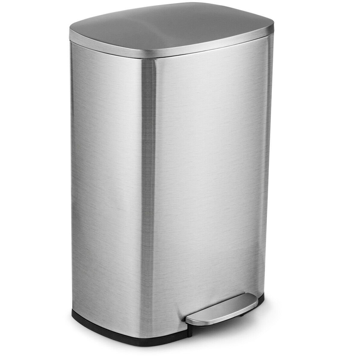 13 2 Gallon Trash Garbage Can Stainless Steel Bin With Bucket Stainless Steel Kitchen Kitchen Trash Can Kitchen Trash Cans Stainless steel kitchen trash can