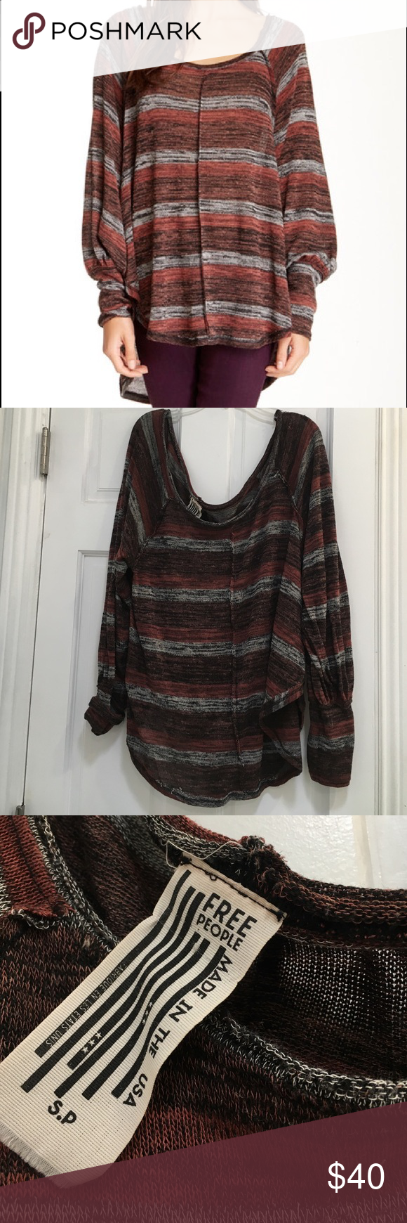 Free People Carolina Hacci Super cute light sweater. Lightly worn ...