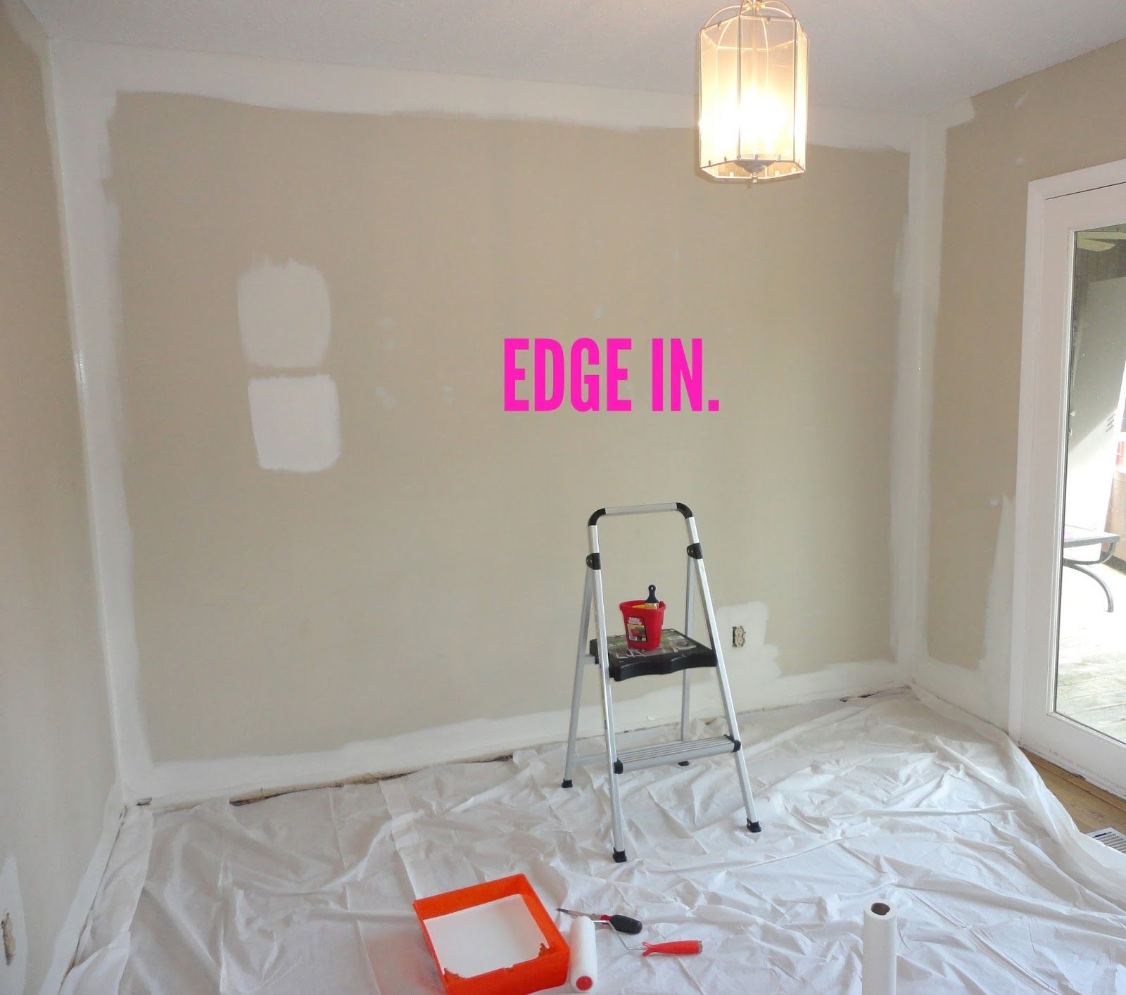 Livelovediy How To Paint A Room Small Room Paint Steps To Painting A Room Room Paint